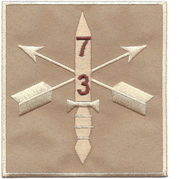3rd Battalion 7th Special Forces Group Combat Helmet Desert Patch