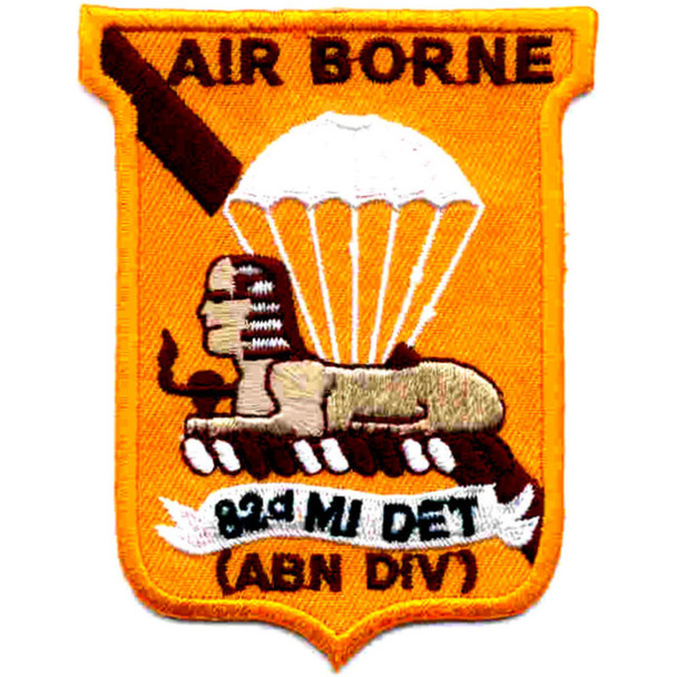 82nd Airborne Division Military Intelligence Detachment Patch