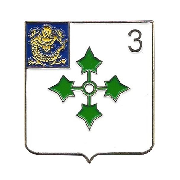 3rd Battalion 47th Infantry Regiment Military Pin