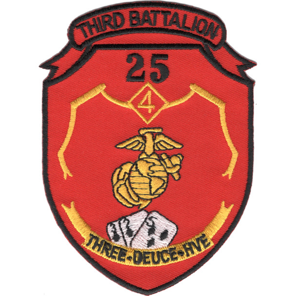 3rd Battalion 25th Marines 3/25 HTF Patch