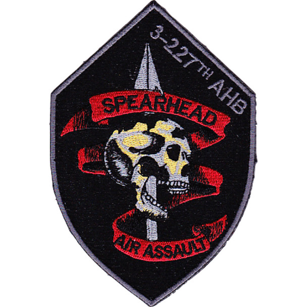 3rd Battalion 227th Aviation Air Assualt Regiment Patch Hook And Loop