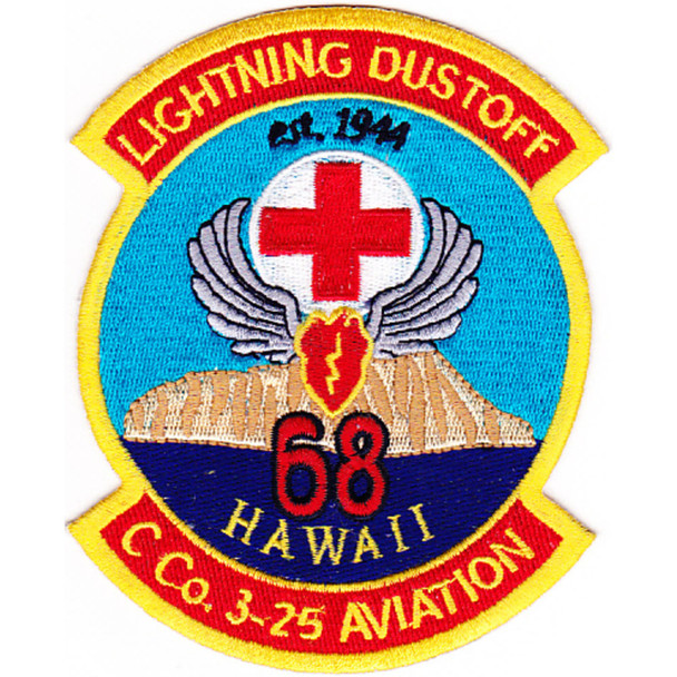 3rd Aviation Squadron 25th Division Company C Patch