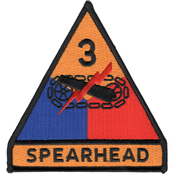 3rd Armored Division Patch