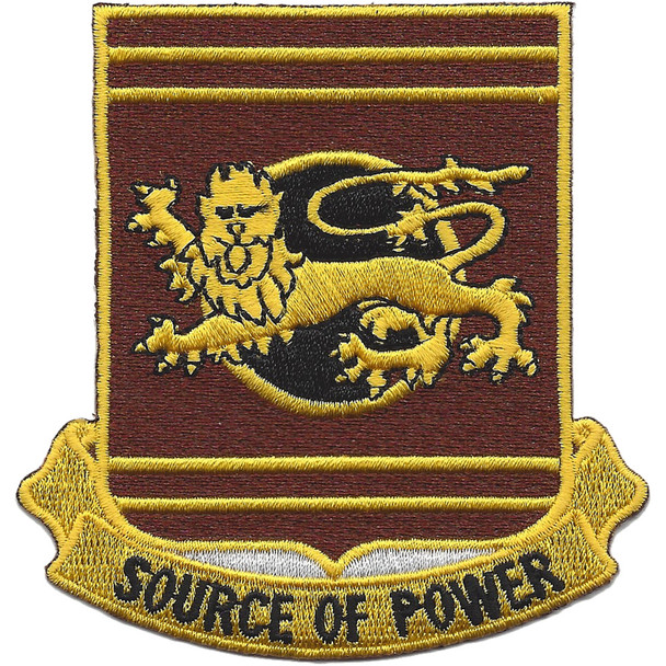 757th Transportation Battalion Patch