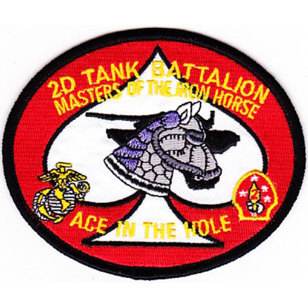 2nd Tank Battalion USMC Patch