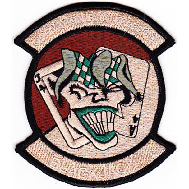 2nd Squadron 6th Cavalry Regiment Patch Desert