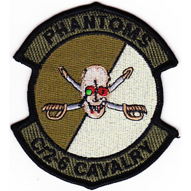 2nd Squadron 6th Aviation Attack Air Cavalry Regiment Company C Skull Patch OD