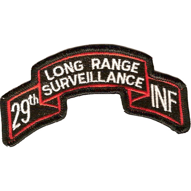 29th LRS Infantry Patch