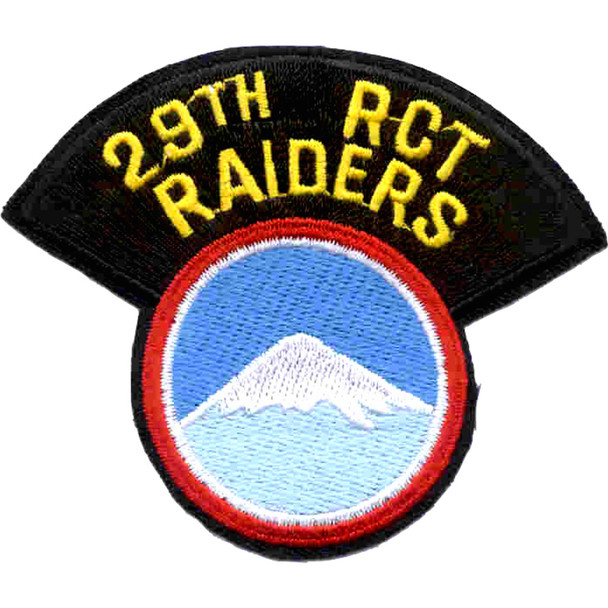 29th Infantry Regimental Combat Team Patch