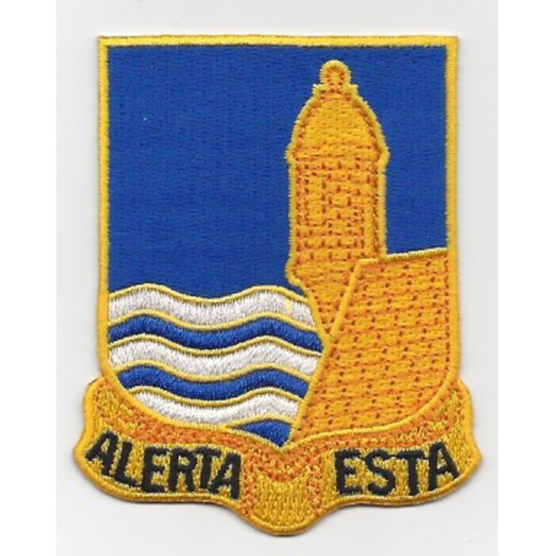 296th Infantry Regimental Patch