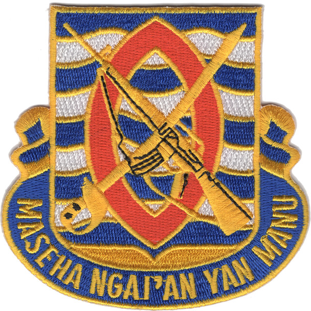 294th Infantry Regiment Patch