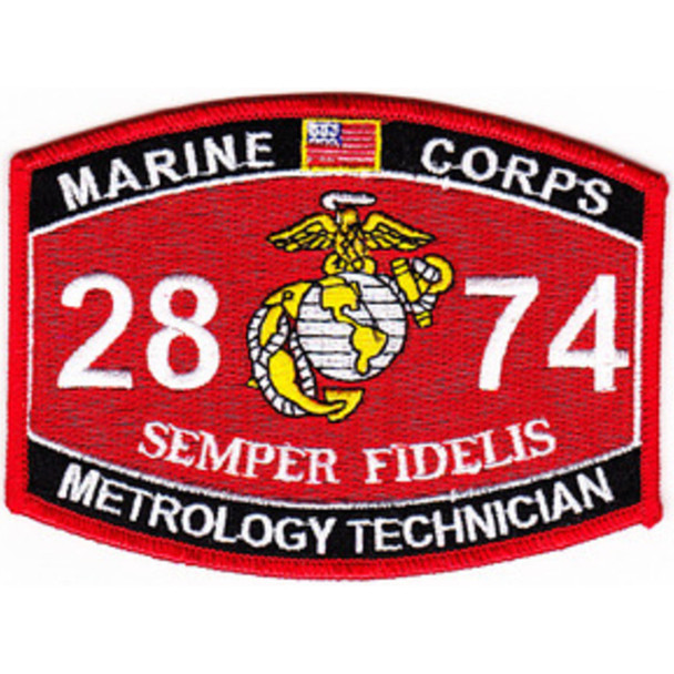 2874 Metrology Technician MOS Patch