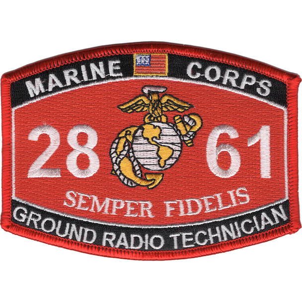 2861 Ground Radio Technician MOS Patch