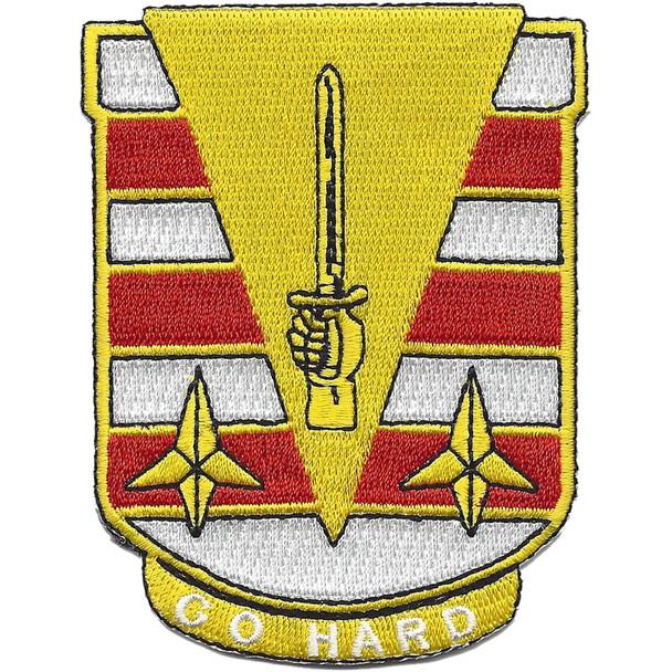 27th Engineer Battalion Patch - Go Hard