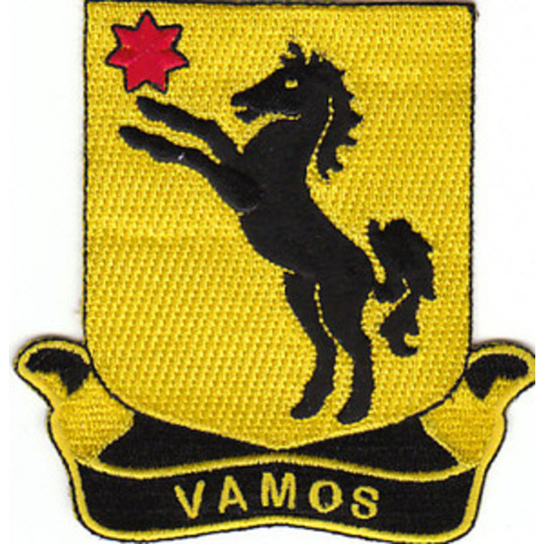 27th Cavalry Regiment Patch
