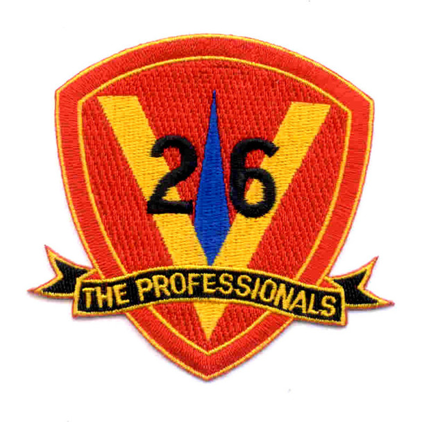 26th Marine Regiment 5th Marines Patch