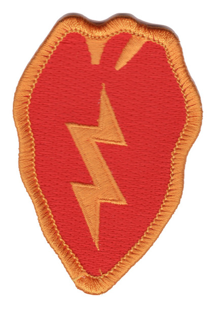 25th Infantry Division Patch