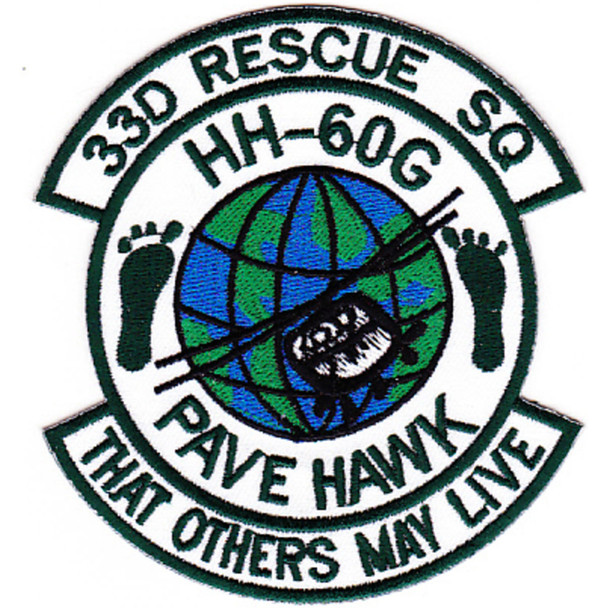 33rd RQS HH-60G Patch Rescue Squadron War Room