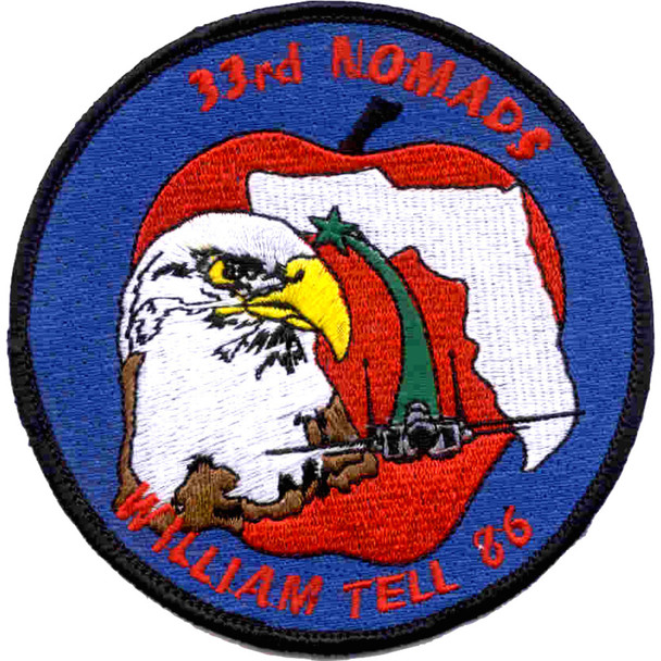 33rd Fighter Wing Nomads Patch