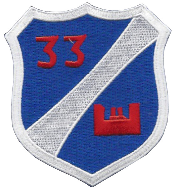 33rd Airborne Engineer Battalion Patch
