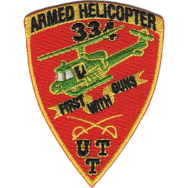 334th Air Cavalry Company Ball Cap Size Patch
