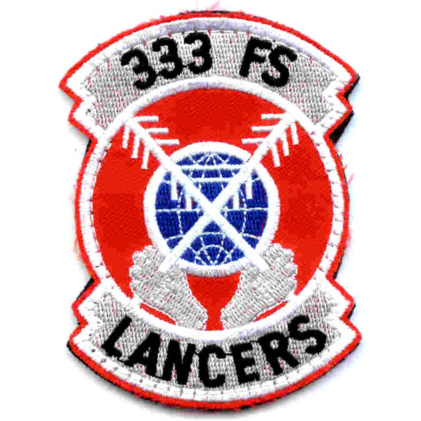 333rd Fighter Squadron Patch Hook And Loop