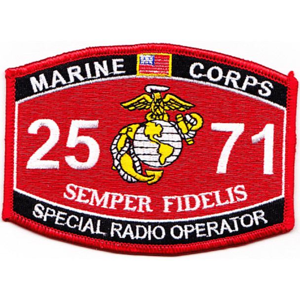 2571 Special Radio Operator MOS Patch