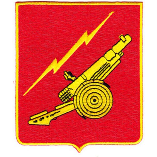80th Anti Aircraft Field Artillery Battalion Patch
