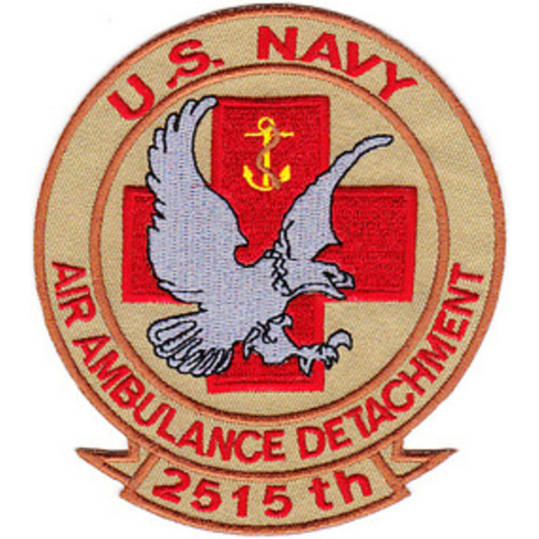 2515th Air Ambulance Detachment Patch Desert