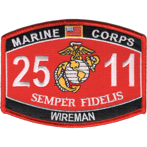 2511 Wireman MOS Patch