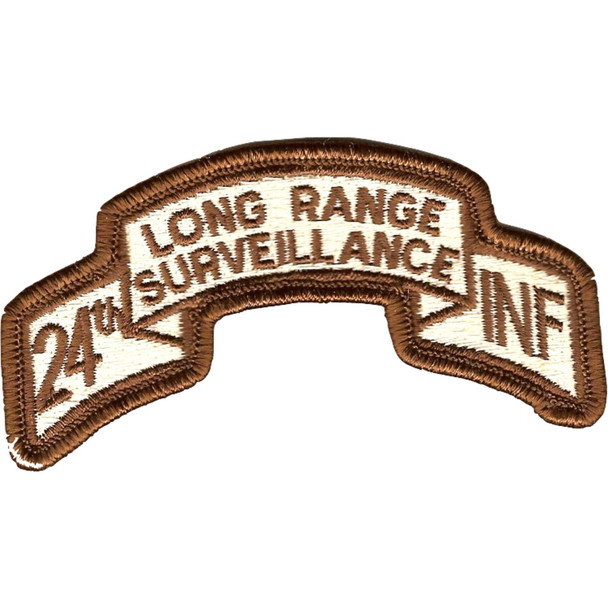 24th LRS Infantry Desert Patch