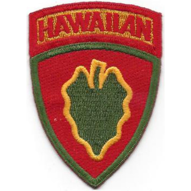 24th Infantry Division Patch Victory Division Hawaiian