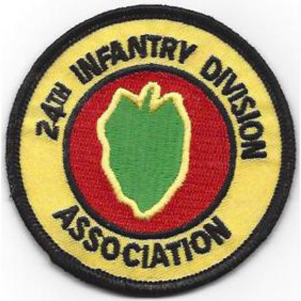 24th Infantry Division Patch Victory Division Association