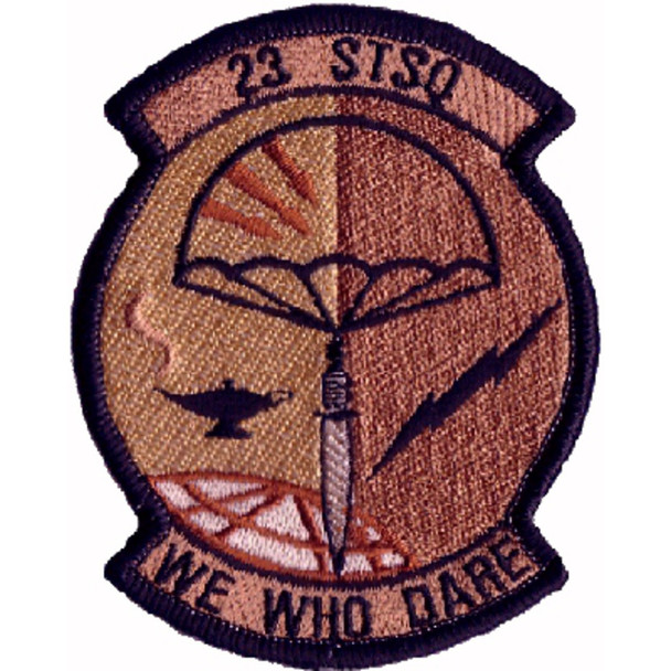 23rd Special Tactics Squadron Patch