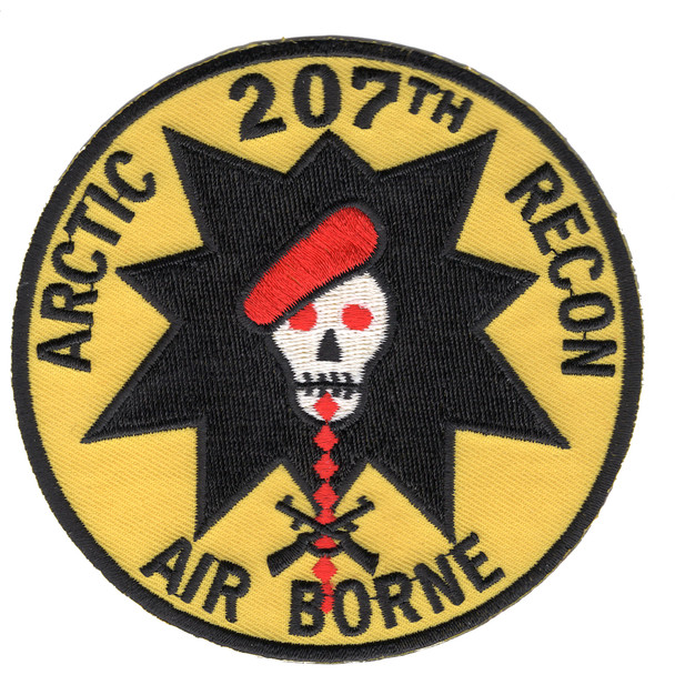 207th Airborne Infantry Group Patch-B Version
