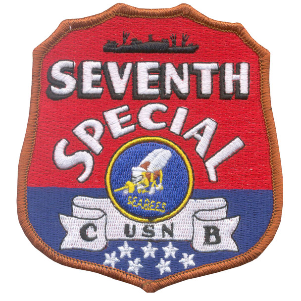 7th SPECIAL SEABEE Battalion WWII Patch