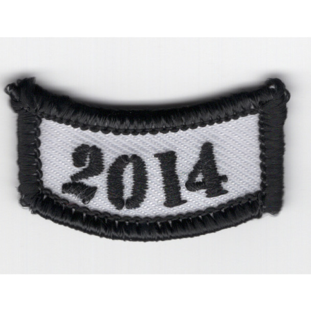 2014 Rocker Bottom Tab Patch