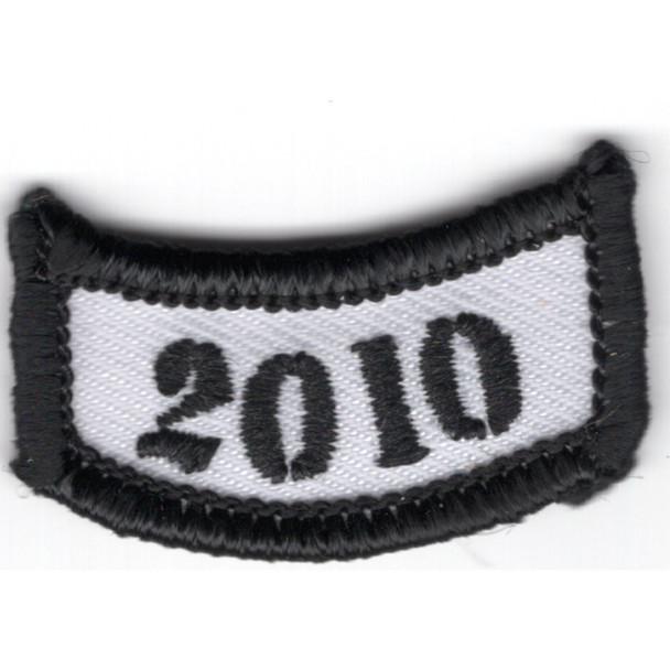 2010 Rocker Bottom Tab Patch