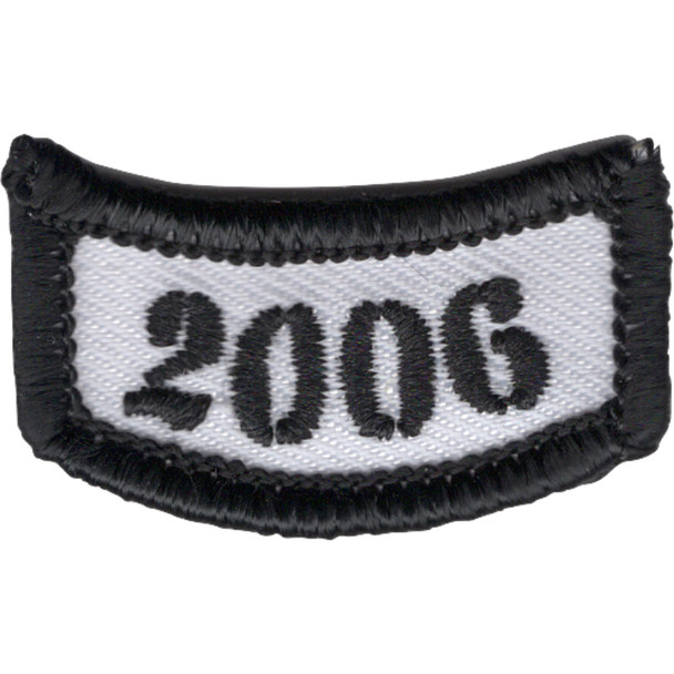 2006 Rocker Bottom Tab Patch