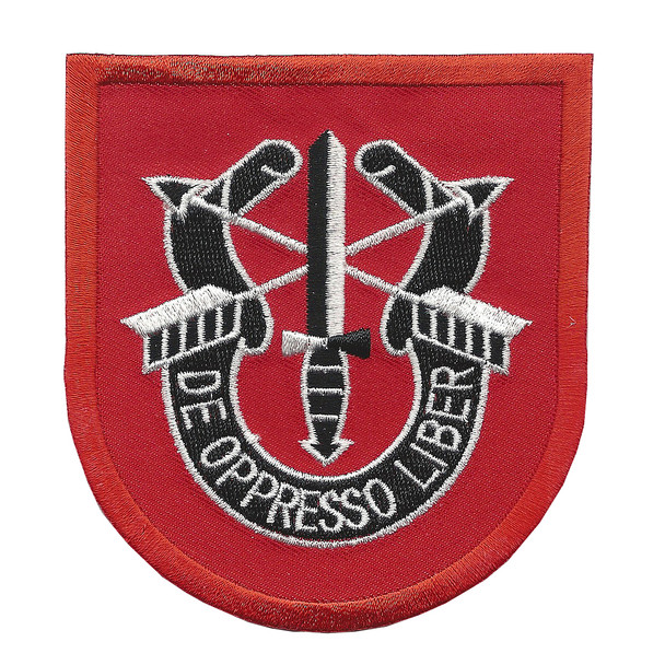 7th Special Forces Group with Crest Large Patch