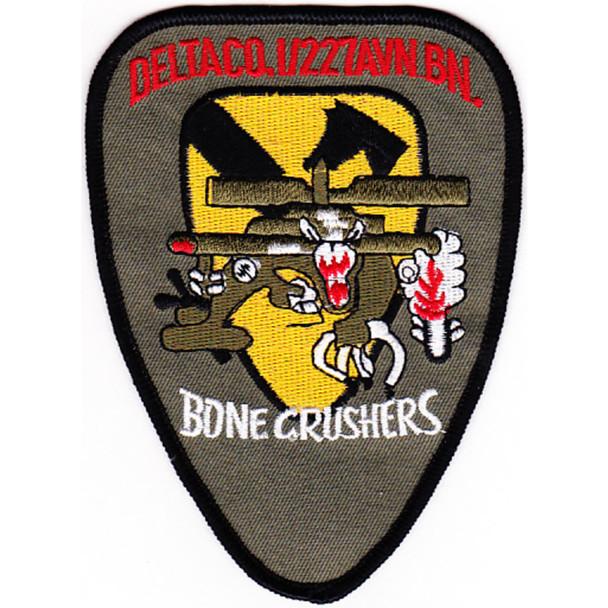 1st Squadron 227th Aviation Regiment 1st Cavalry Division Delta Company Patch