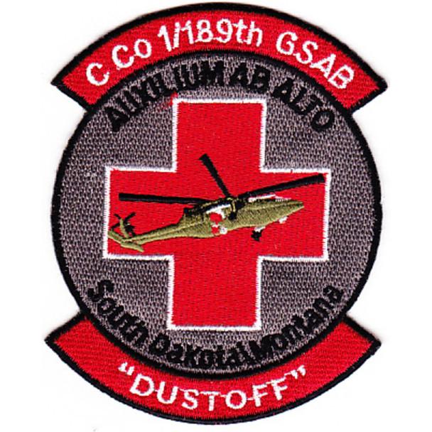 1st Squadron 189th GSAB Charlie Company Medical Evacuation Patch