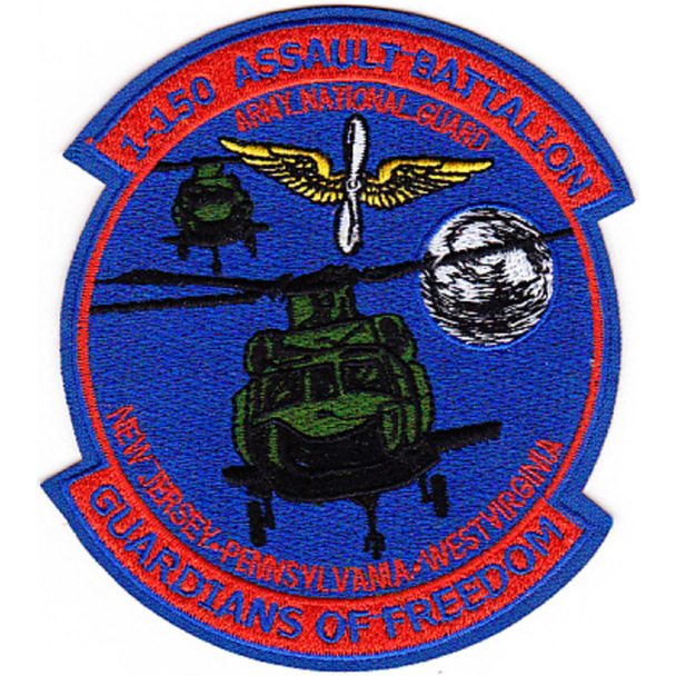 1st Squadron 150th Aviation Air Assault Battalion Patch