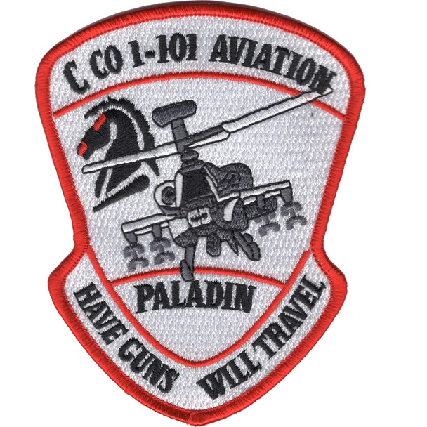 1st Squadron 101st Aviation Division C Company Patch