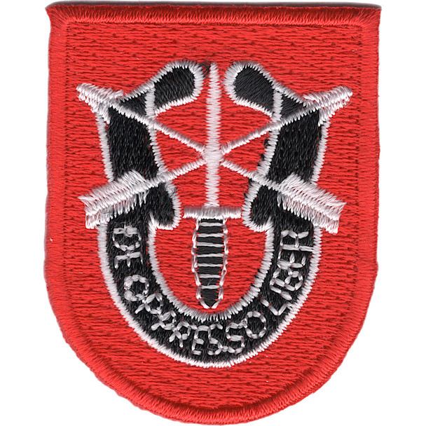 7th Special Forces Group Flash Patch With Crest
