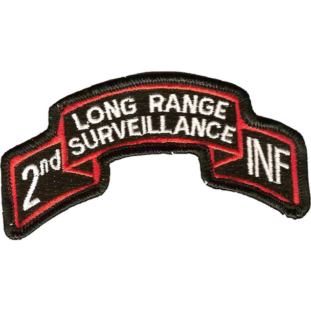2nd Infantry Long Range Patch