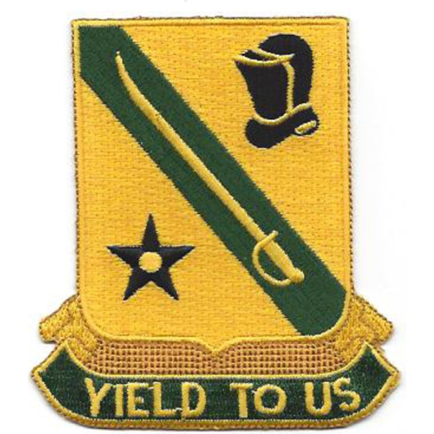 803rd Armor Cavalry Regiment Patch