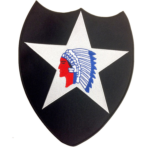 2nd Infantry Division Large Back Patch
