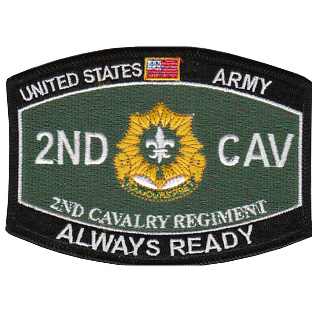 2nd Cavalry Regiment Military Occupational Specialty Rating MOS Patch