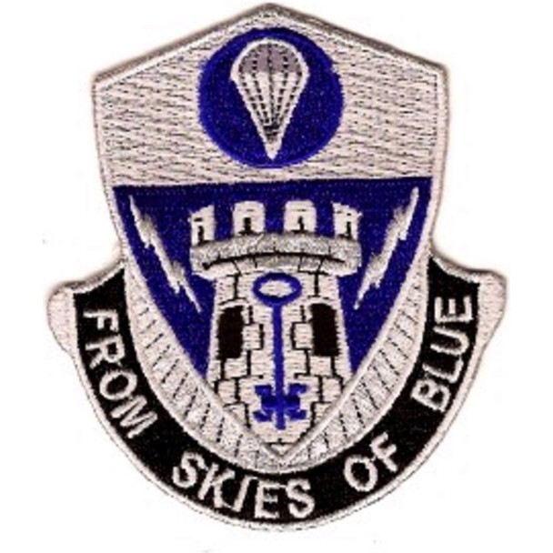 2nd Brigade, 82nd Airborne Special Troops Battalion Patch